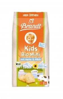 Brandt Bio Minizwieback Hafer & Milch