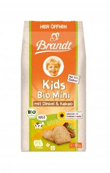 Brandt Bio Minizwieback Dinkel & Kakao