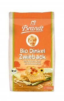 Brandt Bio Dinkel Zwieback DE-ÖKO-001