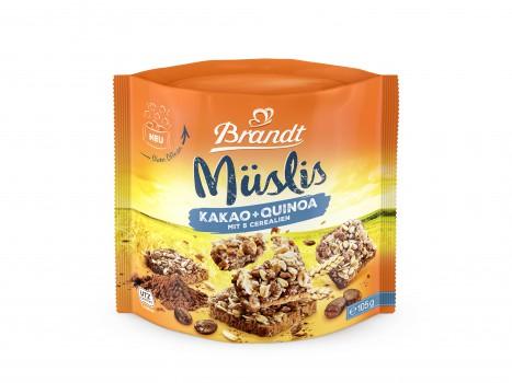 Brandt Müslis Kakao und Quinoa