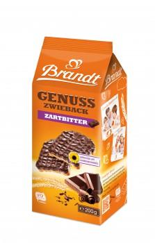 Brandt Genuss Zwieback Zartbitter Schoko 200g