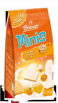 Brandt Minis Joghurt mit Pfirsich-Geschmack 100g