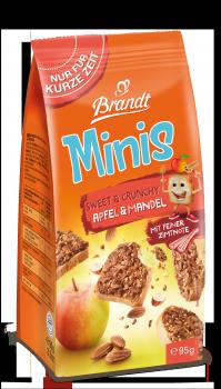Brandt Minis Sweet & Crunchy Apfel & Mandel