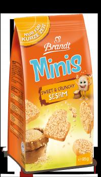 Brandt Minis Sweet & Crunchy Sesam