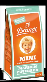 Brandt Mini Markenzwieback ohne Zuckerzusatz