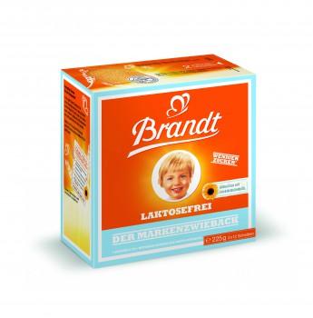 Brandt Markenzwieback Laktosefrei 225g