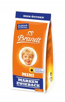 Brandt Mini Markenzwieback105g