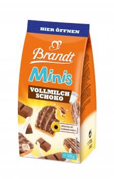 Brandt Minis Vollmilch-Schoko 125g