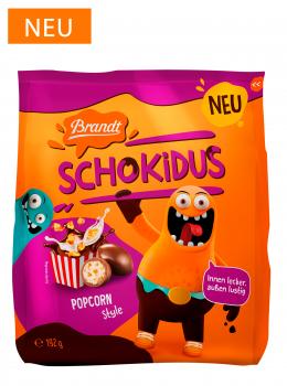 Brandt Schokidus Popcorn