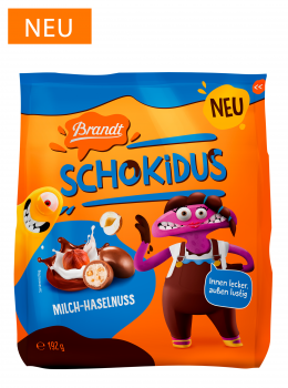 Brandt Schokidus Haselnuss