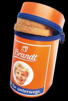 Brandt To Go Dose mit Zipper