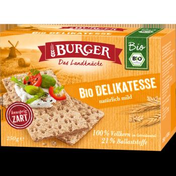 BURGER Bio Delikatesse 250g