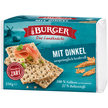 BURGER Mit Dinkel 250g