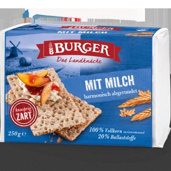 BURGER Mit Milch 250g